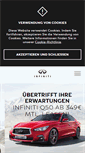 Mobile Preview of infiniti.de